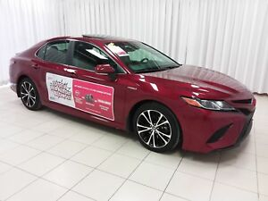 2018 Toyota Camry NEW INVENTORY! SE HYBRID SEDAN WITH LOTS OF FE