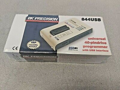 New Bk Precision 844usb Universal Device Programmer Usb Pc Interface Warranty