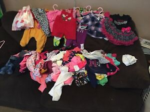 Baby girl clothes lot. 0-3 months