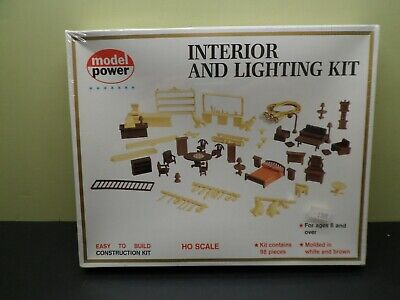 MODEL POWER INTERIOR AND LIGHTING KIT602 SEALED BOX HO SCALE