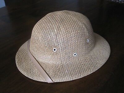 Miller Golf Inc. Woven Pith Helmet Safari Jungle Golfer Hat  - Jungle Safari Golf