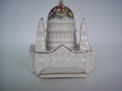 Crested Ware St Paul's Cathedral (City of London Coat of Arms)