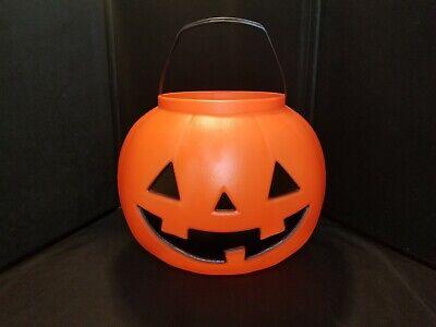General Foam XL Halloween Jack O Lantern Pumpkin Blow Mold Trick Or Treat Pail