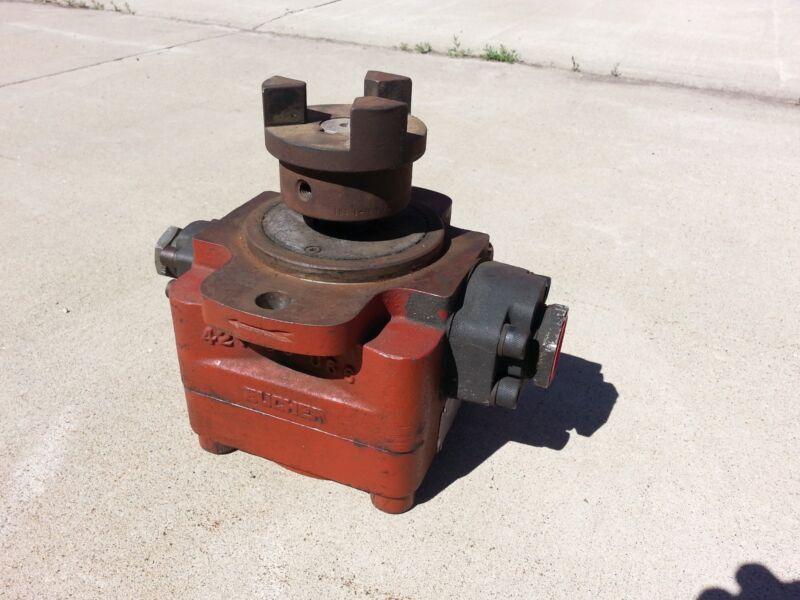 Bucher HydraStar 60 Hartrun Hydraulic Internal Gear Pump  PN#- 5-H1-20G 1750 RPM