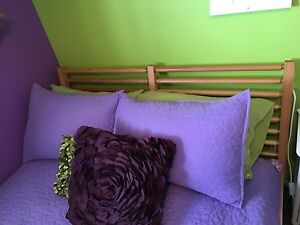 IKEA double bed Pine frame with slats