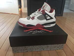 Air Jordan 4s size 13