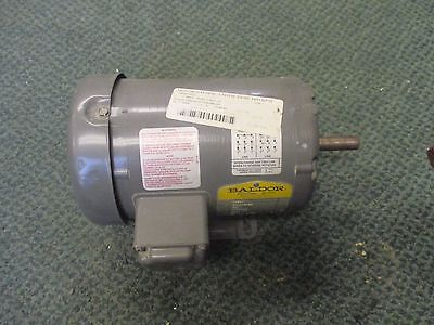 Baldor Industrial Motor M3541 .75hp 3450rpm 230460v 2.61.3a New Surplus
