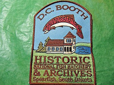 D C BOOTH HISTORIC NATIONAL FISH HATCHERY PATCH SPEARFISH SOUTH DAKOTA-P23