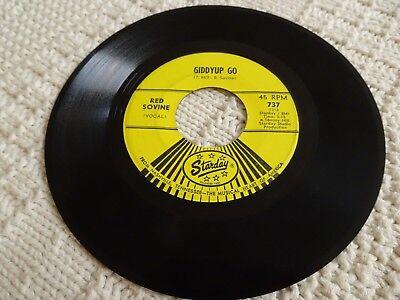 RDE SOVINE  GIDDYUP GO/KISS AND THE KEYS  STARDAY - Giddy Up And Go