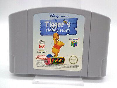 N64 / Nintendo 64 Spiel - Tigger´s Honey Hunt (Modul)(PAL)