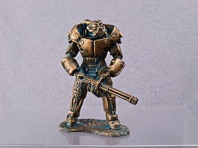 power armor exoskeleton Model 54mm Copper figur Fallout cosplay TIN SOLDIER 1:32 - Fallout Power Armor Cosplay