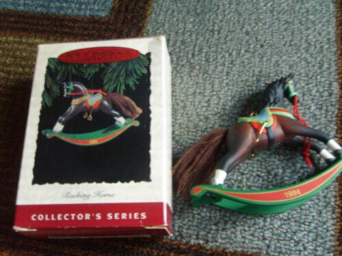 1994 Hallmark Rocking Horse Ornament 14th in Series