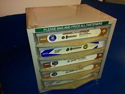 Hillman Storage Cabinet Drawer Hardware Parts Lures Tackle Box Fishing Bass