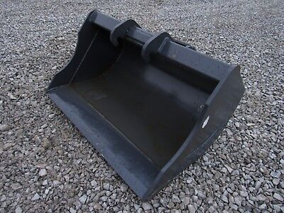 Bobcat Mini Excavator Quick Attach Attachment - 30 Hd Smooth Ditching Bucket
