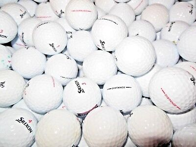 36 PEARL/A GRADE CONDITION SRIXON DISTANCE GOLF BALLS