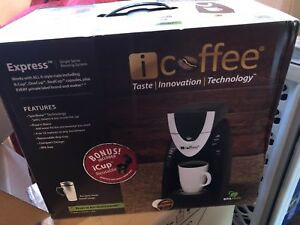 icoffee express coffee maker