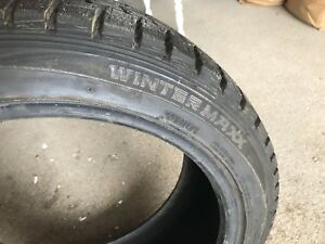 Genesis Coupe (Like New) Dunlop Wintermaxx Tires
