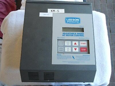 Leeson Adjustable Speed Ac Motor Control  7.5hp 174929