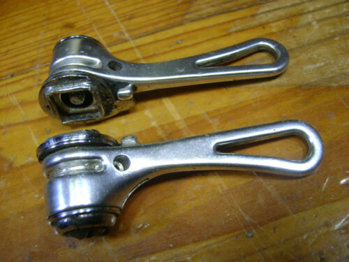 used set Simplex Retro-friction downtube shifters braze on Retrofriction