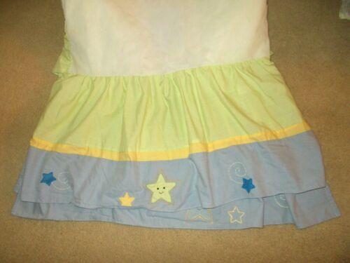Lambs & Ivy Goodnight Moon Stars Dust Ruffle Crib Skirt