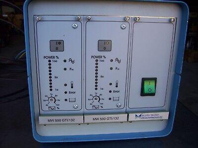 Martin Walter Ultrasonic Generator Mw 500 Gti132