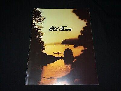 2001 Old Town Canoe Catalog VTG Advertising~Boats, Kayaks, Accessories List ++ Old Town Canoe Accessories