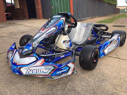 Arrow X3 Go Kart Rotax EVO 125cc Engine