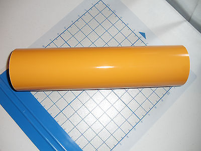 Yellow Vinyl 15 Roll Sign Decal Sheet Series 5 High Gloss Windowwallvehicle