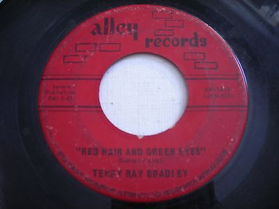 Terry Ray Bradley Red Hair and Green Eyes / Herself 1965 45rpm