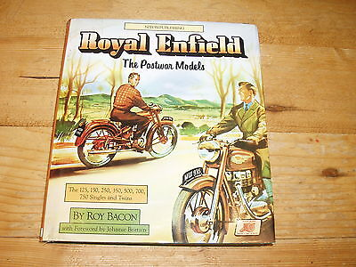 Royal Enfield-The Postwar Models. A Book by Roy Bacon.