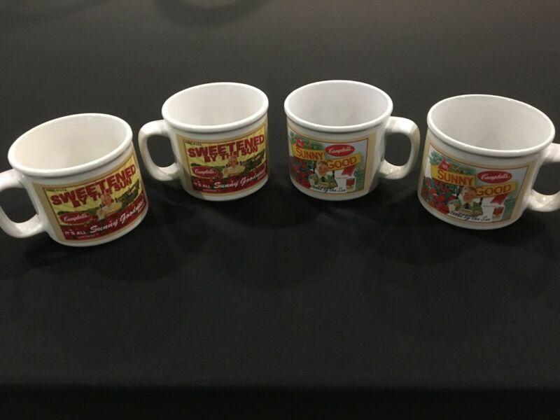 Campbell's soup/coffee mugs