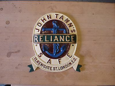 John Tann Antique safe plate