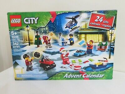 NEW Lego City Series 60268 Christmas Advent Calendar 342pc Building Toy Set