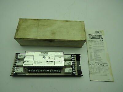 Siebe Cp-8161-333-3 Programmable Controller 6-stage Relay 24-120240 Vac