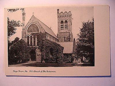 P E Church Of The Redeemer In Bryn Mawr Pa Pre 1908