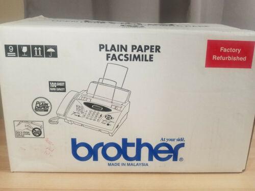 Brother IntelliFAX 775 Plain Paper Fax Phone Copier - Open Box