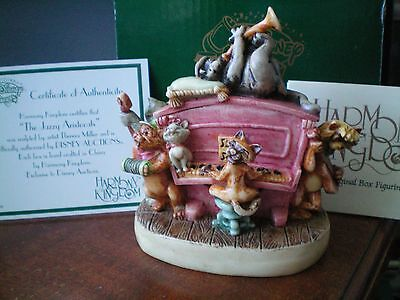 Harmony Kingdom Disney The Jazzy Aristocats Alley Cats Box Figurine LE 500 NIB