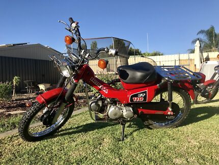 Honda CT110 x2 one with only 800km