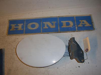 2001 Acura CL TYPE S white fuel lid door nh578x