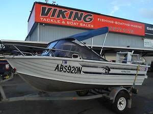 AllyCraft Bay Raider 4.55 **Great Broadwater Boat** Runaway Bay Gold Coast North Preview