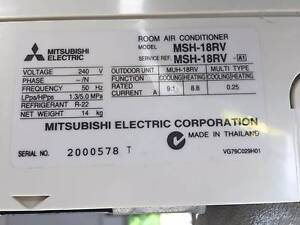 Mitsubishi Electric split system air conditioner Balwyn North Boroondara Area Preview