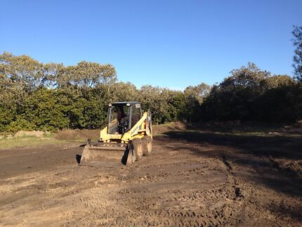 Bobcat hire  or tipper hire fire breaks yard clean ups roads ect  Newcastle 2300 Newcastle Area Preview