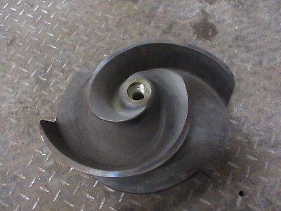Flygt Pump 12 Iron Impeller 1227231d 70434 Matl-iron Manf-flygt New