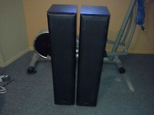deux colonnes de son 200w chaque