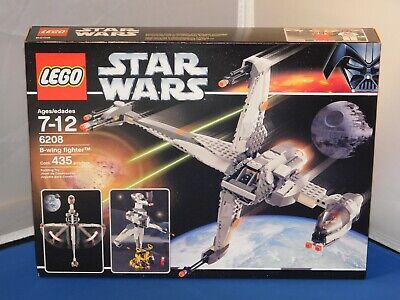 Lego Star Wars B-Wing Fighter #6208 NMISB! 435 pcs