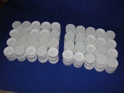 200 48mm-400 Polypropylene Ribbed Caps Lids For 1l Isco Sample Bottles
