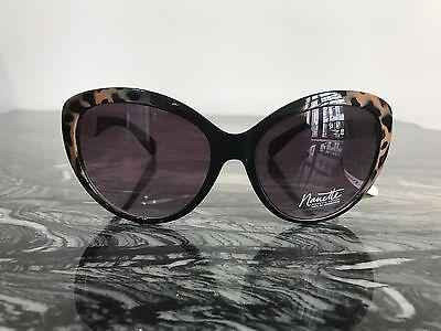 New Nanette Lepore Women's Sunglasses Cateye gold/brown cheetah (Cheetah Print Sunglasses)