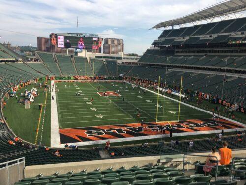 Jacksonville Jaguars @ Cincinnati Bengals- 4 tickets Sun 10/4/20 Sec 230, Row 28