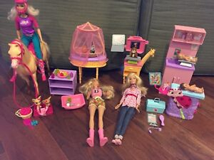 "Barbie ""I can be"" care sets"