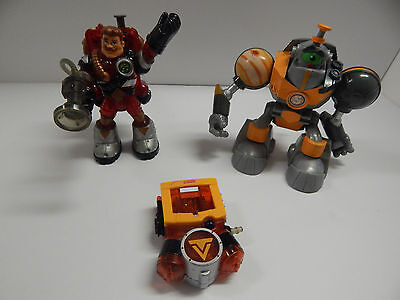 Fisher-Price Rescue & Planet Heroes Lot